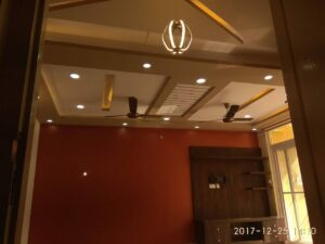 False ceiling @ Jalahalli