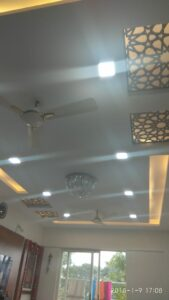 CNC Grill Jaali false ceiling